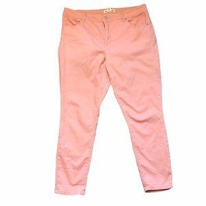 Artisan NY Pink Skinny Leg Jeans - Sz 16